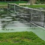 tennis in rain